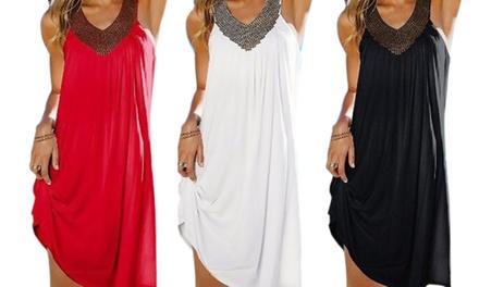 1, 2 ou 3 robes ornées de strass sur le col Lola Balotti, taille unique