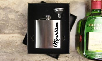 Personalised Metal Flask