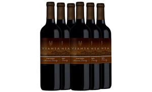Award-Winning Viansa Zinfandel 6-Bottle Wine Set (Shipping Included)