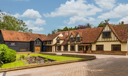 Hertfordshire: 1 or 2 Nights for Two with Breakfast and ThreeCourse Dinner at The Great Hallingbury Manor