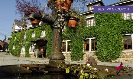 Saint-Hubert: 1-3 Nächte für Zwei mit Frühstück und optional 1x 4-Gänge-Dinner im Hotel Auberge du Sabotier