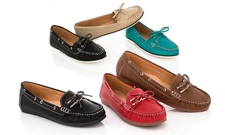 Lady Godiva Women's Boat Shoes
