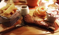 Steak Meal with Wine for Two or Four at Carriages Bar and Restaurant (42% Off)