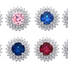 Stud Earrings Made with Swarovski Elements by Elements of Love