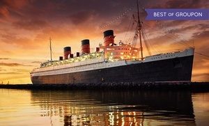 Floating Hotel in Long Beach  at The Queen Mary, plus 6.0% Cash Back from Ebates.