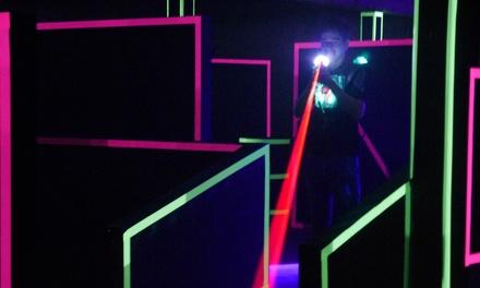 3 Spiele Lasertag à 15 Min. für 1-10 Personen bei Code Red Lasertag (33% sparen*)