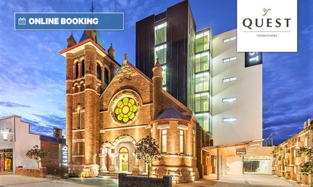 Toowoomba: 1-2 Nights for Two with Wi-Fi and Parking at Quest Toowoomba