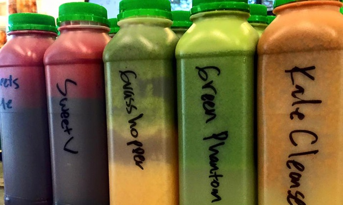 $27 Off 1 Day Juice Cleanse U0026 Juice Class At The Spot ...