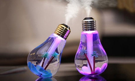 Mini USB Bulb Humidifier and Air Purifier with LED Lights fa8904b2-56d0-11e7-a163-00259069d868