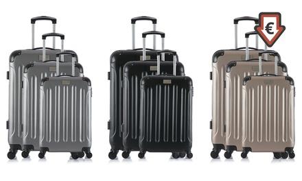 Set van 3 ABSkoffers met bagageweegschaal, voor € 89,99€ korting