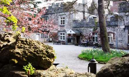 Copper Bath Ritual, Treatment, Spa Facilities Access and Afternoon Tea at Ruthin Castle Hotel & Moat Spa