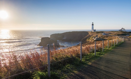 Stay at 2.5-Star Newport, OR, Hotel. Dates into March 2019.
