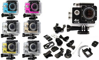 Action Camera with Accessories