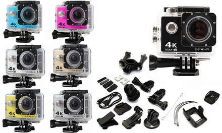 $29 for a Range of Action Cameras with Waterproof Case and Mounts