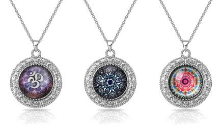 Fino a 3 collane Mandala Philip Jones disponibili in 3 modelli