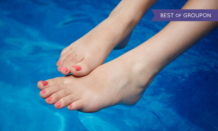 Aesthetic Medical Network - Multiple Locations: Laser Nail Fungus Removal for One or Two Feet at Aesthetic Medical Network (75% Off)