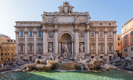 ✈ Rome and Venice: 4 or 6Night Break at a Choice of Hotels with Breakfast, Flights and Train Transfers*
