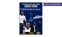 An Evening with Ledley King with Meal for One or Two, 10 August at Lashings (Up to 34% Off)