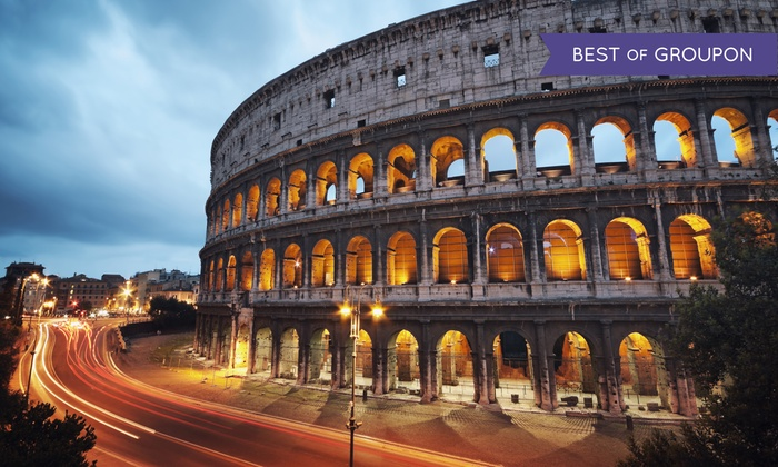 8-Day Paris and Rome Vacation with Airfare from Gate 1 Travel