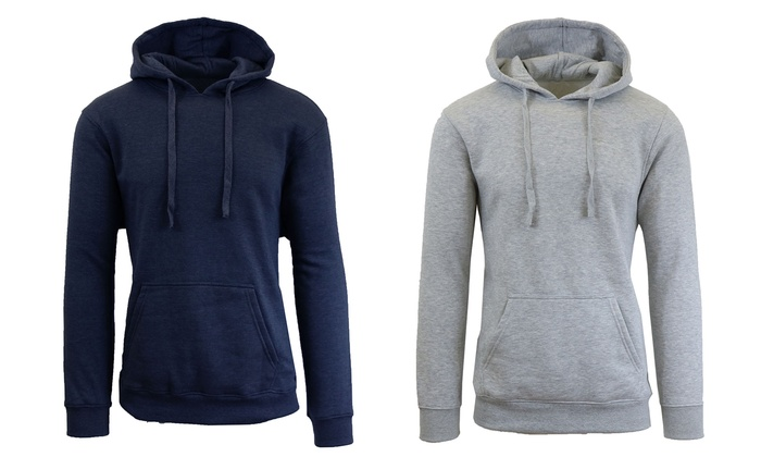 Men's Fleece Pullover Hoodie | Groupon Goods