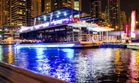 Relaxing 60-Minute Dubai Marina and Lagoon Night Tour at Lazy Lagoon Cruise (Up to 53% Off)