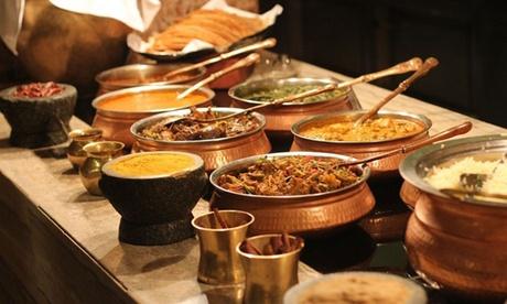 Menú gourmet de cocina india para 2 o 4 con entrante, principal, acompañamiento, postre y bebida desde 24,95 €
