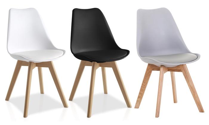 moderner stuhl lucia groupon. Black Bedroom Furniture Sets. Home Design Ideas
