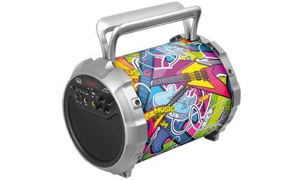 Altoparlante speaker bluetooth karaoke XF 300 POPTrevi