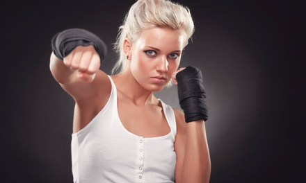 5 or 10 Boxing Aerobics Classes at Straightright Fitness (61% Off)