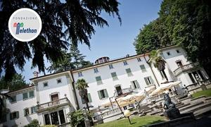 San Lucio: Cena con delitto e menu d'autore di 4 portate con vino in 3 diverse dimore storiche con San Lucio Events