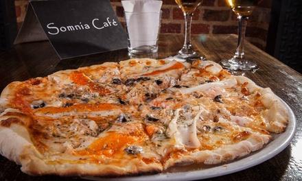 Menú de pizza ilimitada para 2 o 4 personas con 2 o 4  bebidas desde 19,95 € en Pizzas Somnia