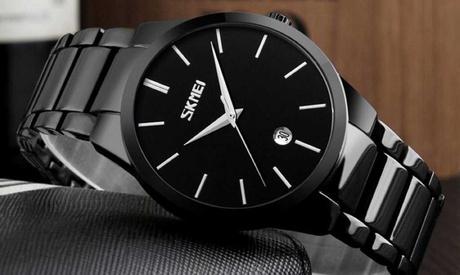 Sparangebote: SKMEI 9140 Herrenuhr - minimalistisch einfach