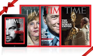TIME Magazine: Abbonamento All Access 6, 12, 24, 36 mesi al TIME Magazine: digitale e cartaceo con consegna a casa (sconto fino a 89%)