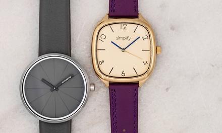 Simplify Men's Watches