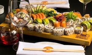 SAKURA SUSHI: Desde $499 por almuerzo o cena japonesa para dos o cuatro en Sakura Sushi