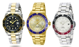 Invicta Pro Diver Men's Stainless Steel Core Watch