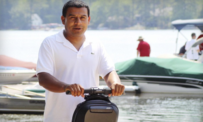 Pocono Segway Tours - Multiple Locations: 3-Mile Segway Tour for Two or Four from Pocono Segway Tours (Up to 68% Off)
