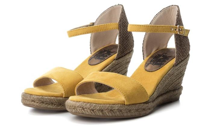 Xti FemmesGroupon Xti Compensées Compensées Sandales Sandales WE9DHY2I