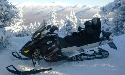 Guided Snowmobile Tour from SledVentures Snowmobile Rentals (Up to 45% Off). Four Options Available.