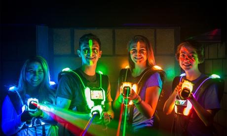 Sparangebote: 4 Spiele Lasertag inkl. Ausrüstung, Elite Karte und Getränk in der Laserzone Mainz ( 37% sparen*)