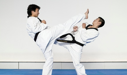One or Two Months of Tae Kwon Do Classes with Uniform at Master Yoos World Champion Tae Kwon Do (Up to 90% Off)