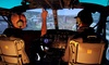 Hubschrauber-Simulatorflug