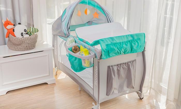 lionelo reisebett f r kinder groupon goods. Black Bedroom Furniture Sets. Home Design Ideas