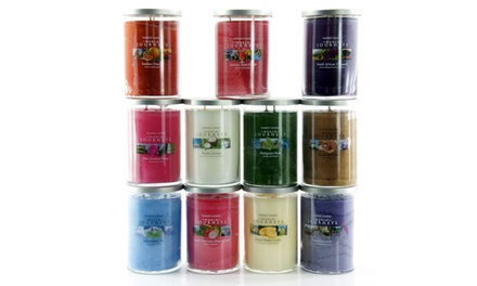 Four Yankee Candle Assorted World Journey Large Twin Wick Candles