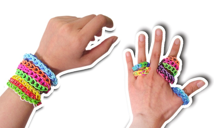 Rubber Loom-Band Refills: Rubber Loom-Band Refills in Glow-in-the-Dark, Rainbow Colors, or Solid Colors. Free Returns.