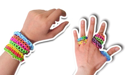 Rubber Loom-Band Refills in Glow-in-the-Dark, Rainbow Colors, or Solid Colors. Free Returns.