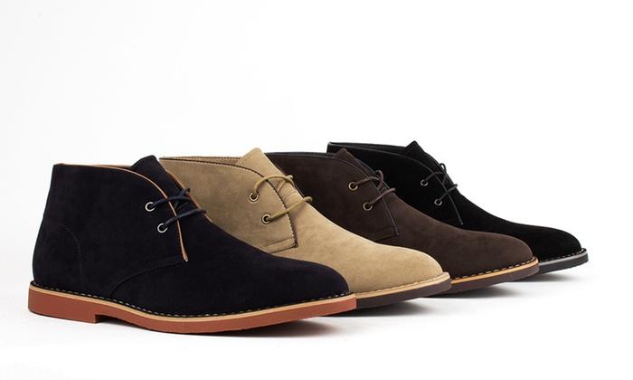 4ec60bbc7 Harrison Men's Chukka Boots | Groupon