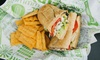 Quiznos  - San Antonio: $6 for a Regular Sandwich, Chips, and a Drink at Quiznos (Up to $10 Value)