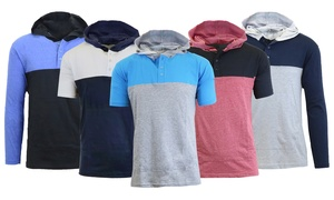 Galaxy By Harvic Men's Long and Short Sleeve Pullover Hoodies (S-3XL)