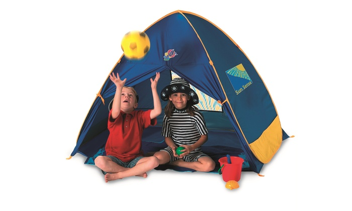 Discovery Adventures Family Play Pop Up Beach Tent